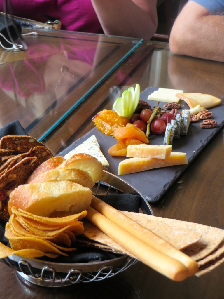 Cheese Plate Lakeview Lounge Fairmont Chateau Lake Louise