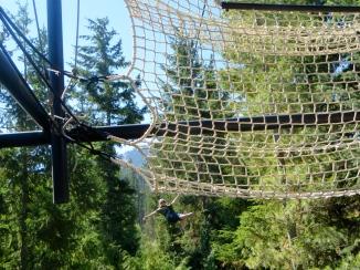 Ziptrek Eagle Tour Whistler BC   The Rose Table