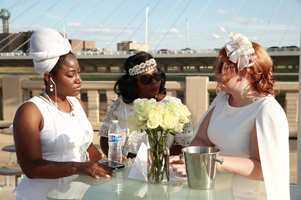 Diner en Blanc Dallas - Katie-Rose Watson