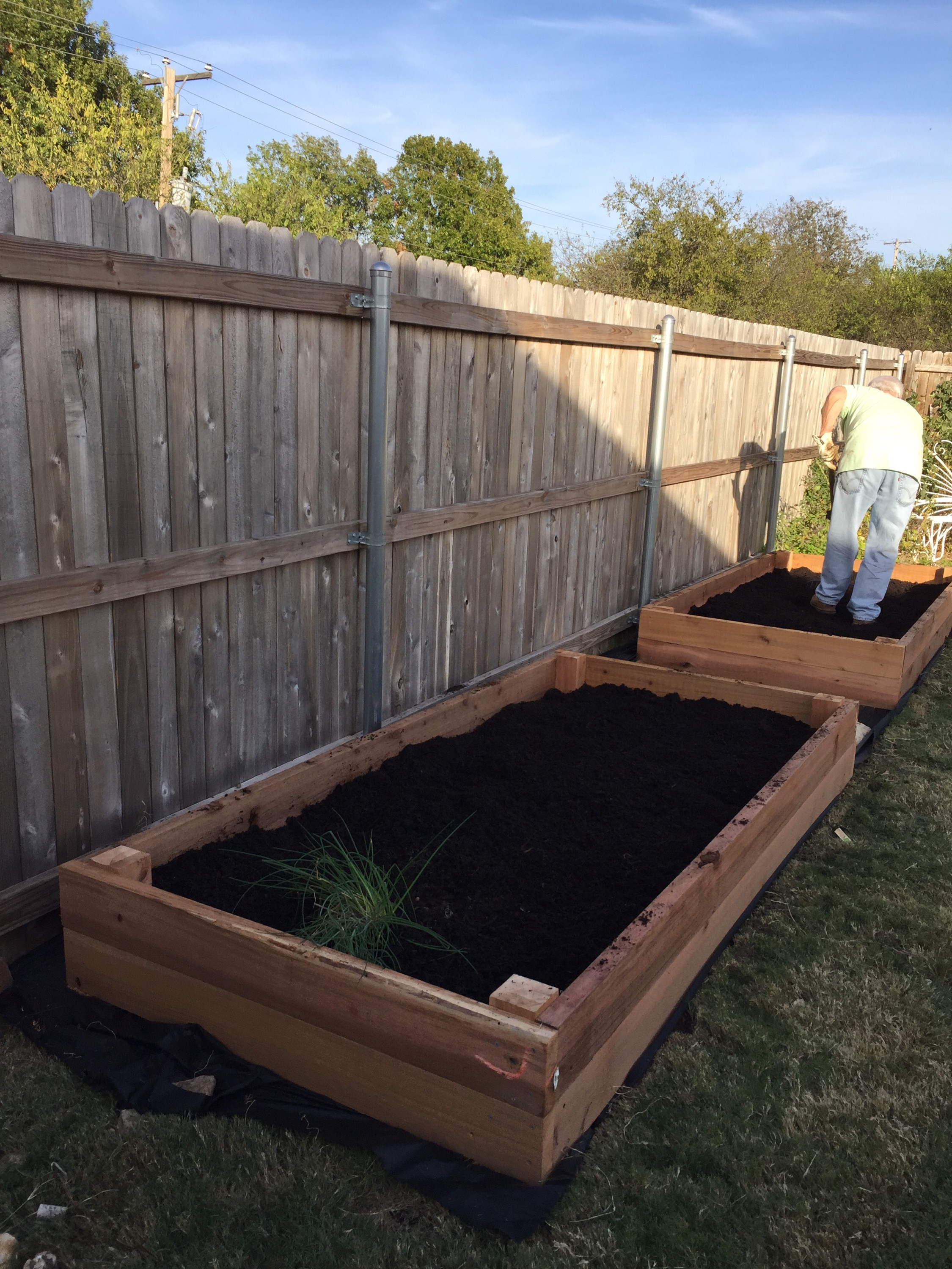 Cedar Raised Bed Garden | The Rose Table