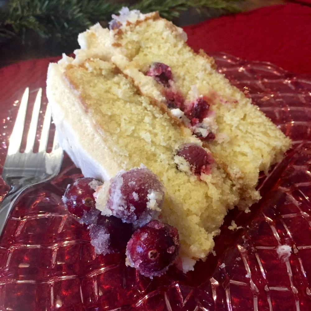 Fiori di Sicilia Cranberry Cake | The Rose Table