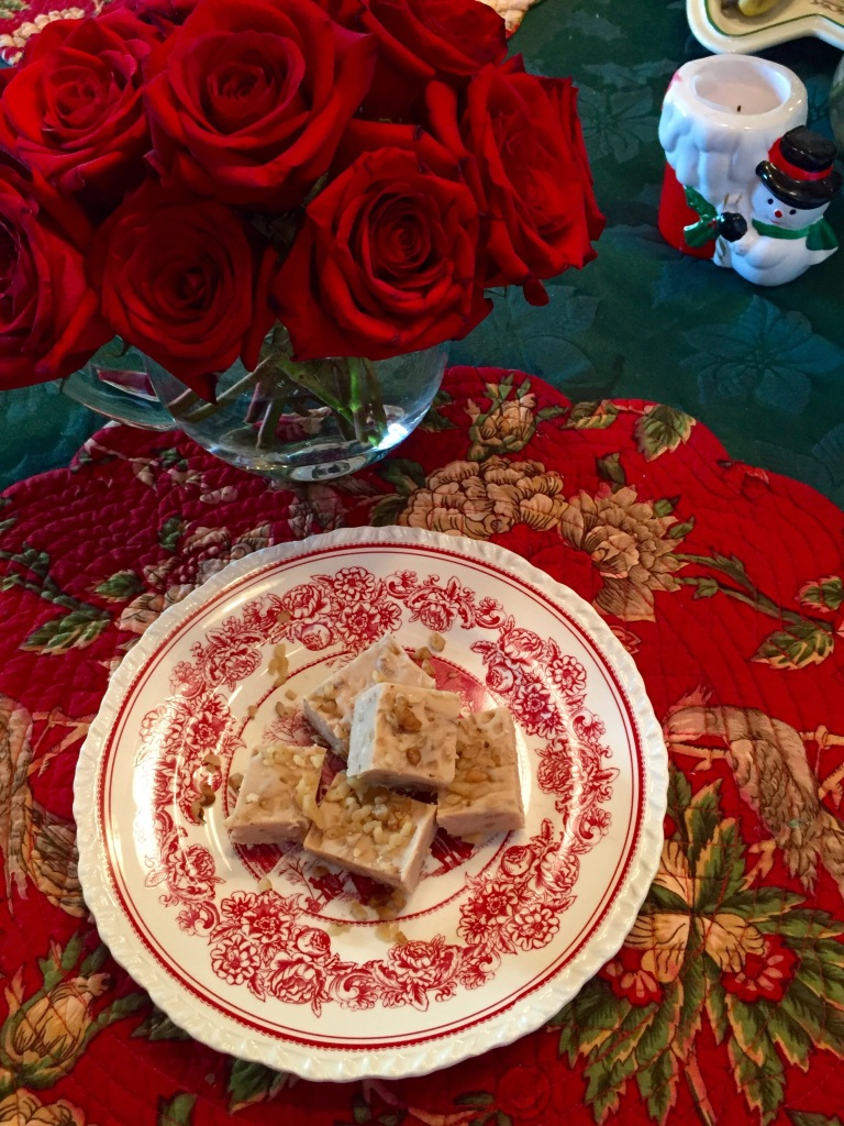 Easy Maple Walnut Fudge | The Rose Table