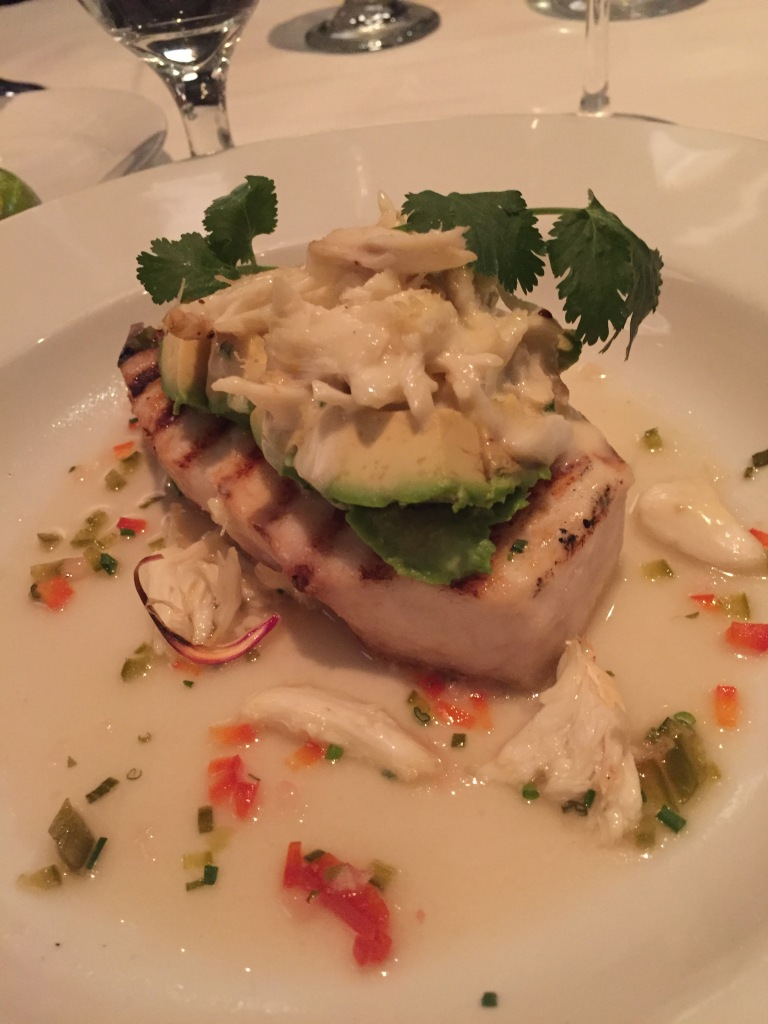Eddie V's Review: Swordfish Steak | The Rose Table
