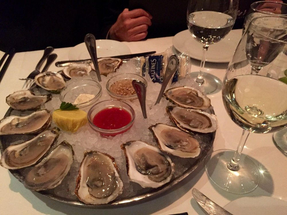 Eddie V's Review: Oysters | The Rose Table