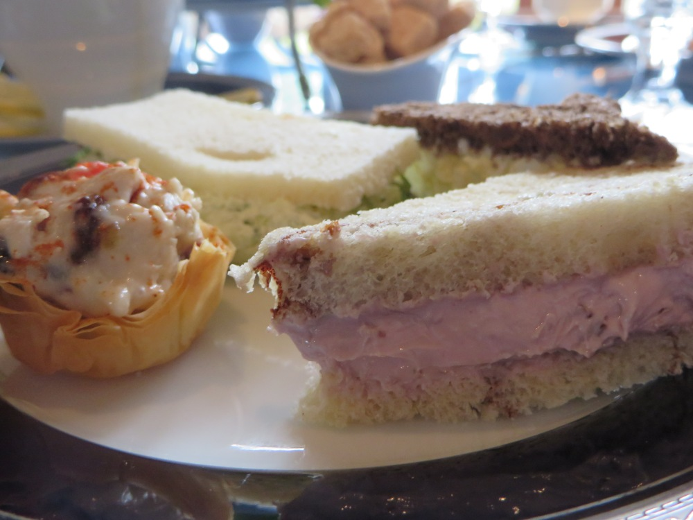 Tea Sandwiches at Dallas Arboretum | The Rose Table
