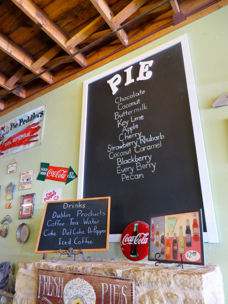 Pie Peddler's in Glen Rose, TX | The Rose Table