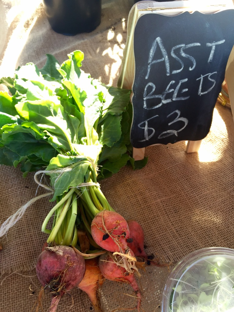 Farmers Market Beets | The Rose Table