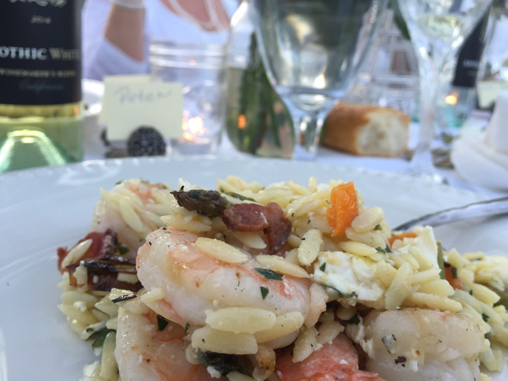 Grilled Shrimp Orzo Salad | The Rose Table