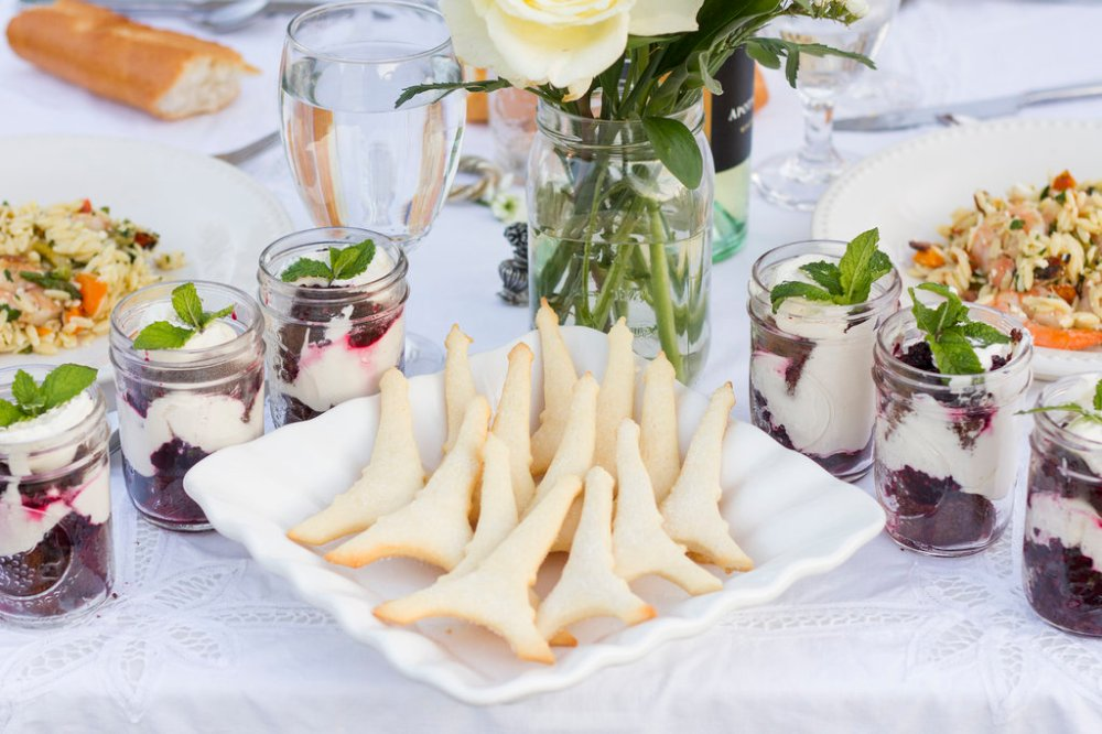 Diner en Blanc Recipes | The Rose Table