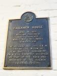 Plaque on William Faulkner's House