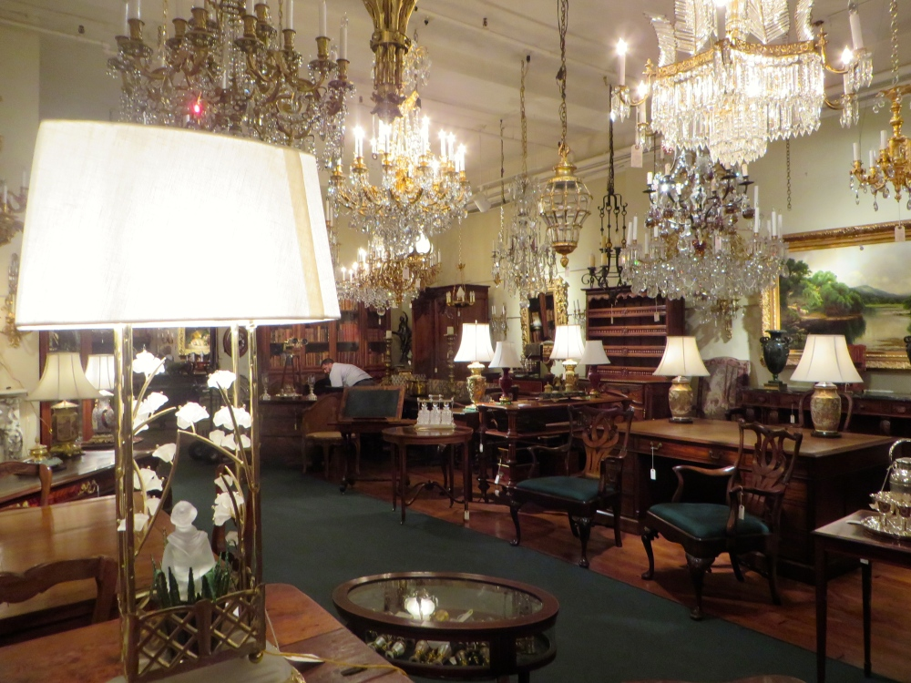 Keil's Antiques on Royal Street New Orleans | The Rose Table