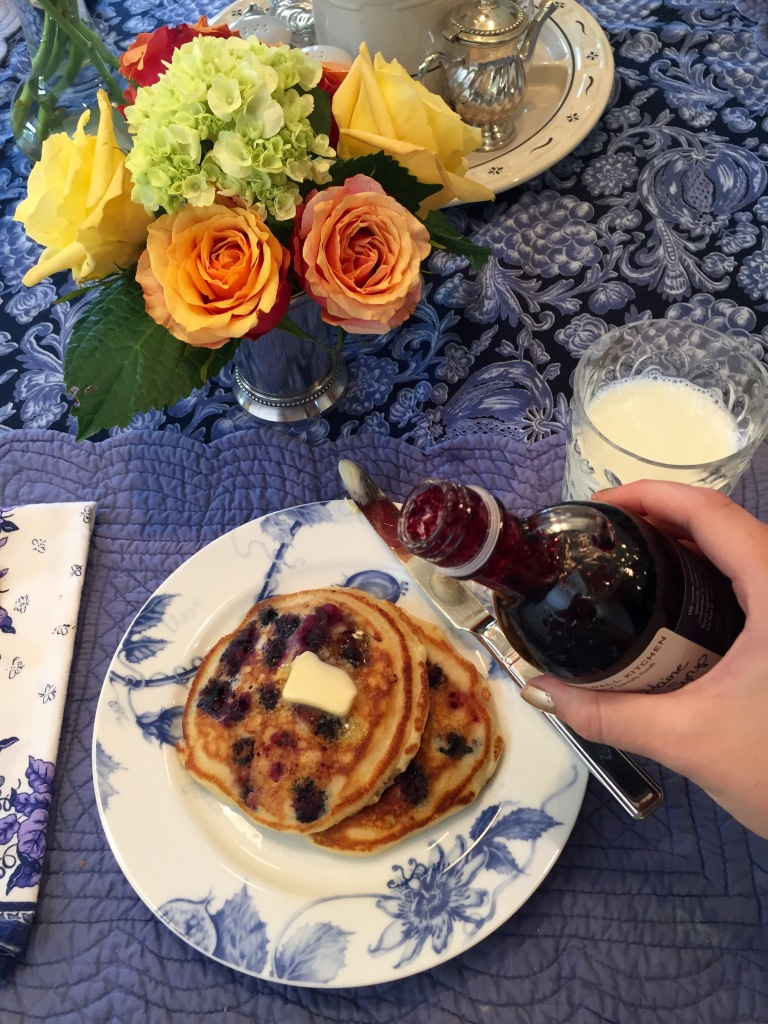Old-fashioned Buttermilk Pancake Recipe | The Rose Table