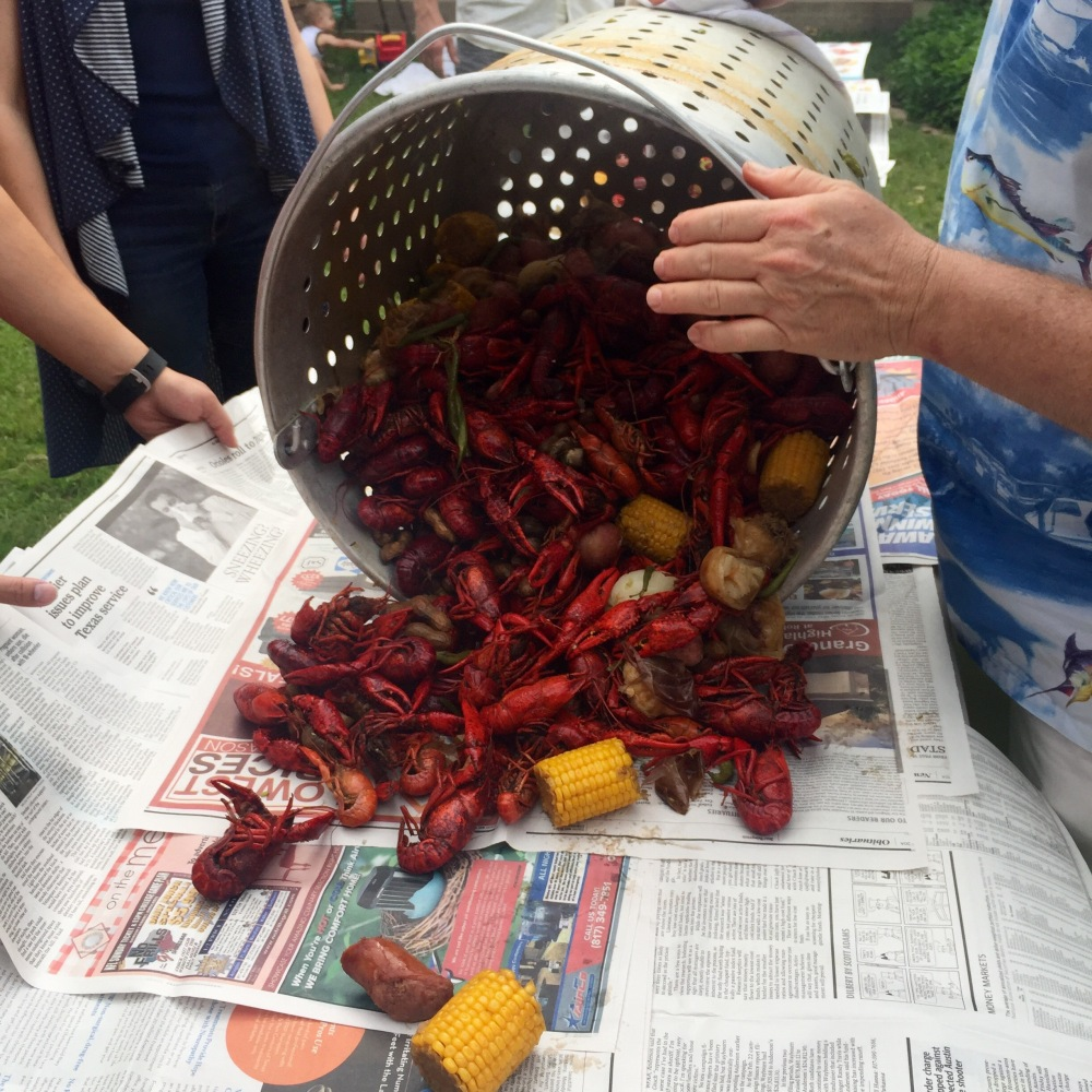 How To Host A Crawfish Boil  The Rose Table