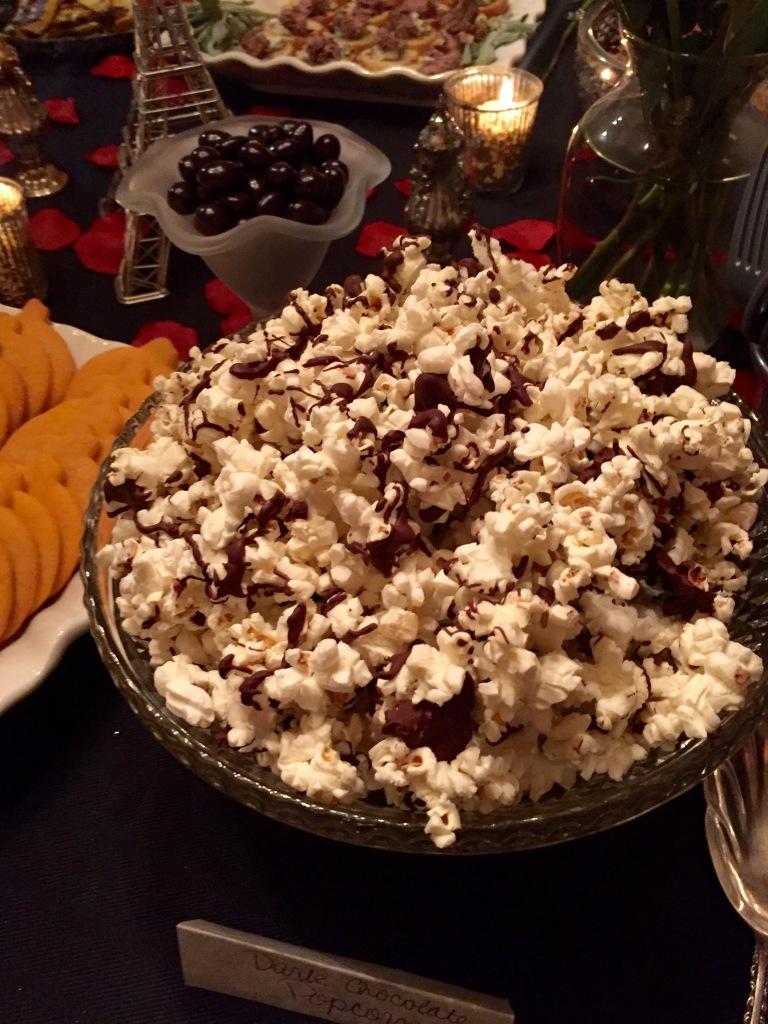 Dark Chocolate Popcorn with Sea Salt | The Rose Table