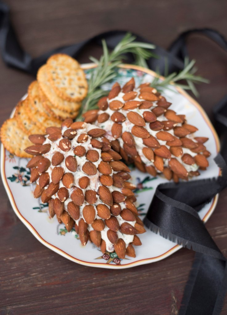 Pine Cone Cheese Ball | The Rose Table