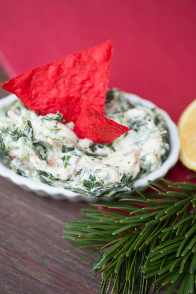 Bacon Spinach Dip | The Rose Table