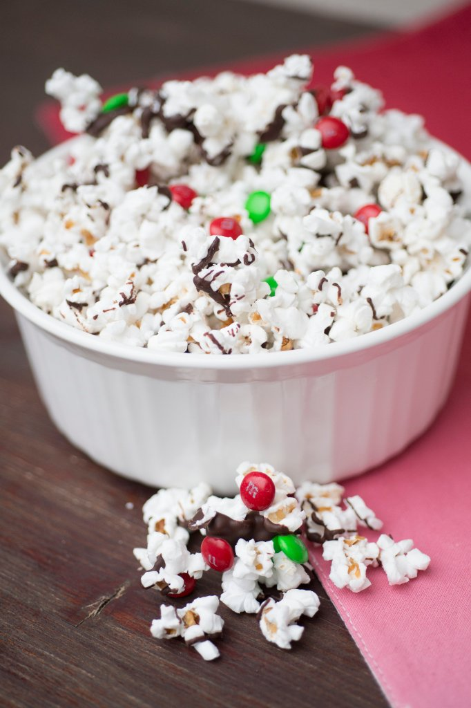 Christmas Popcorn | The Rose Table