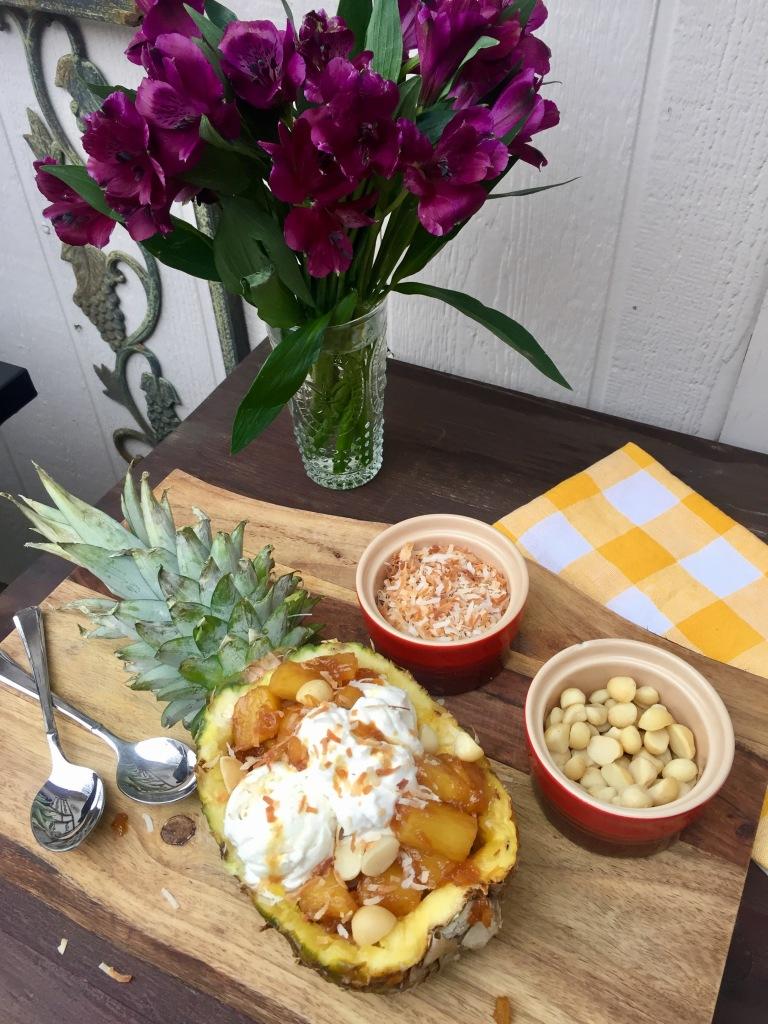 Tropical Pineapple Sundae | The Rose Table
