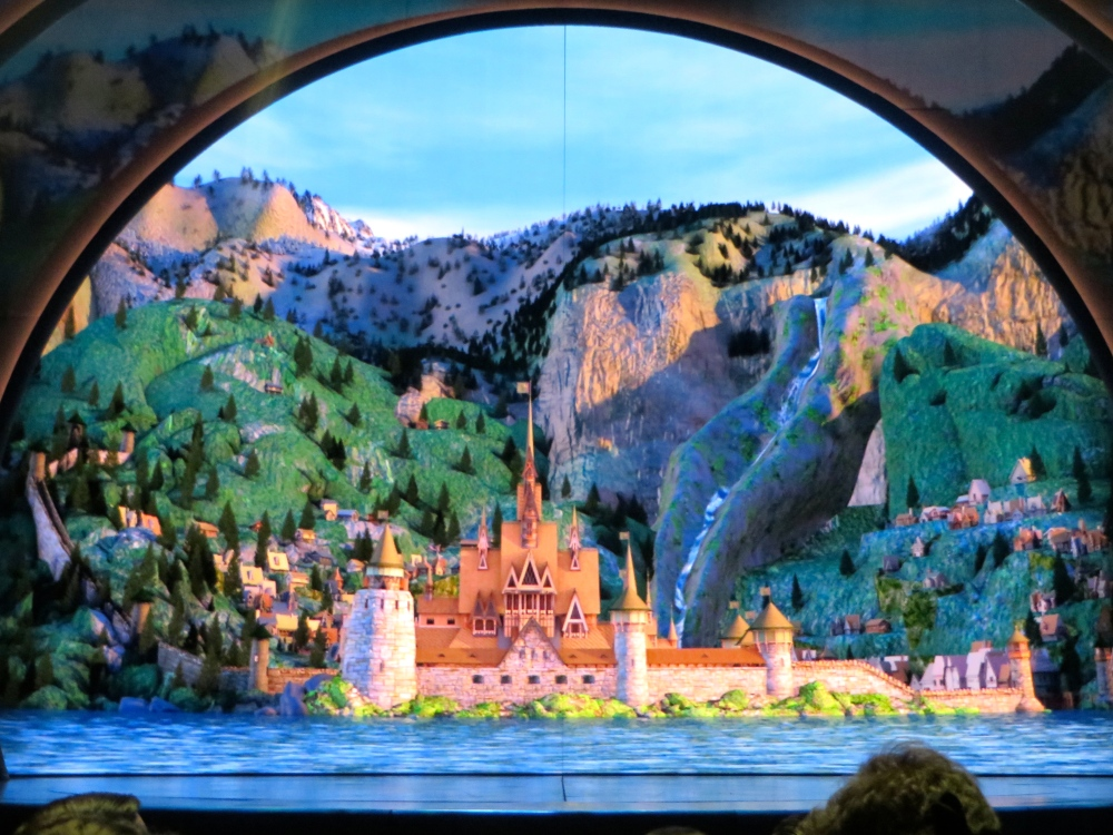Frozen Live at Hyperion Theater | The Rose Table