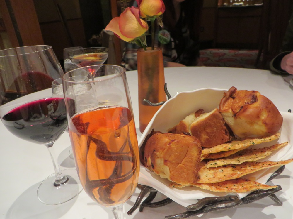 Napa Rose Disneyland Review | The Rose Table