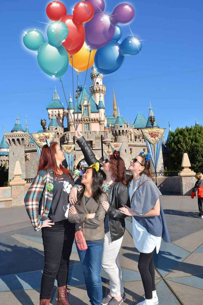 Birthday Trip to Disneyland | The Rose Table