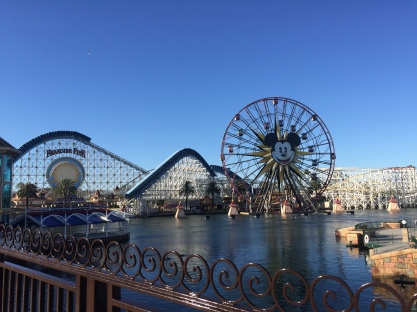 Mickey's Fun Wheel (one of the most terrifying rides in the park!)