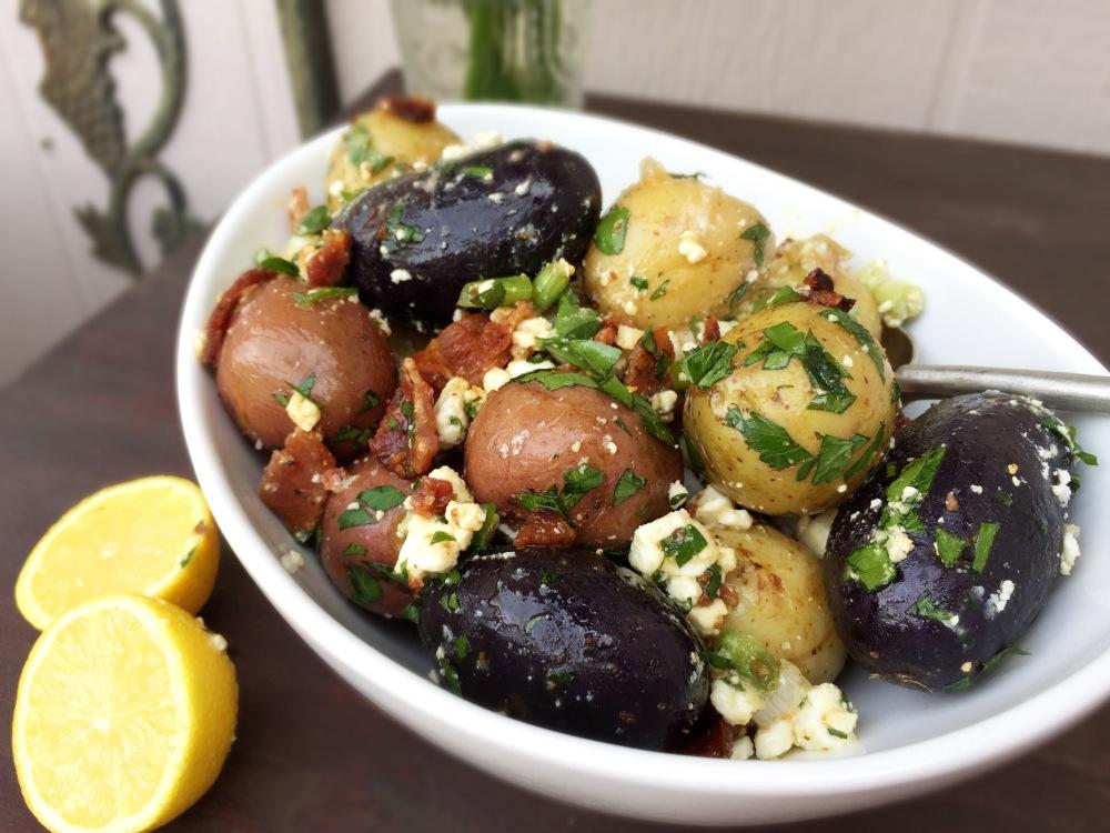 Bacon Potato Salad | The Rose Table