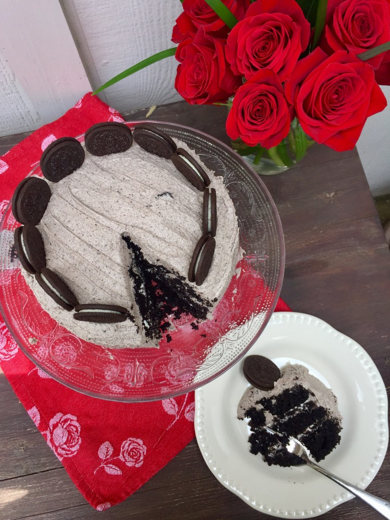 Cookies 'n' Cream Cake | The Rose Table