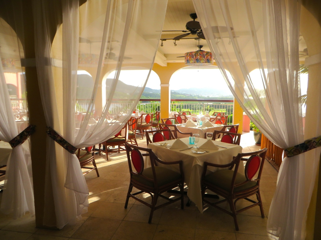 The Terrace at The Buccaneer | The Rose Table