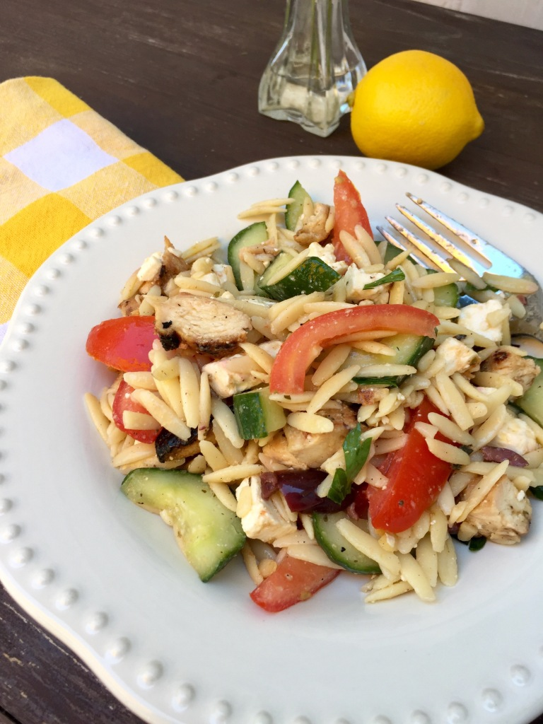 Greek Orzo Salad   The Rose Table