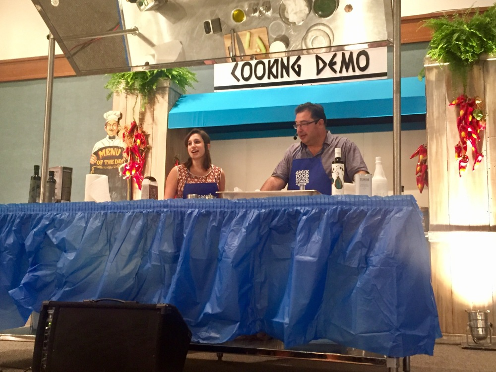 Cooking Demo at Greek Food Festival of Dallas | The Rose Table