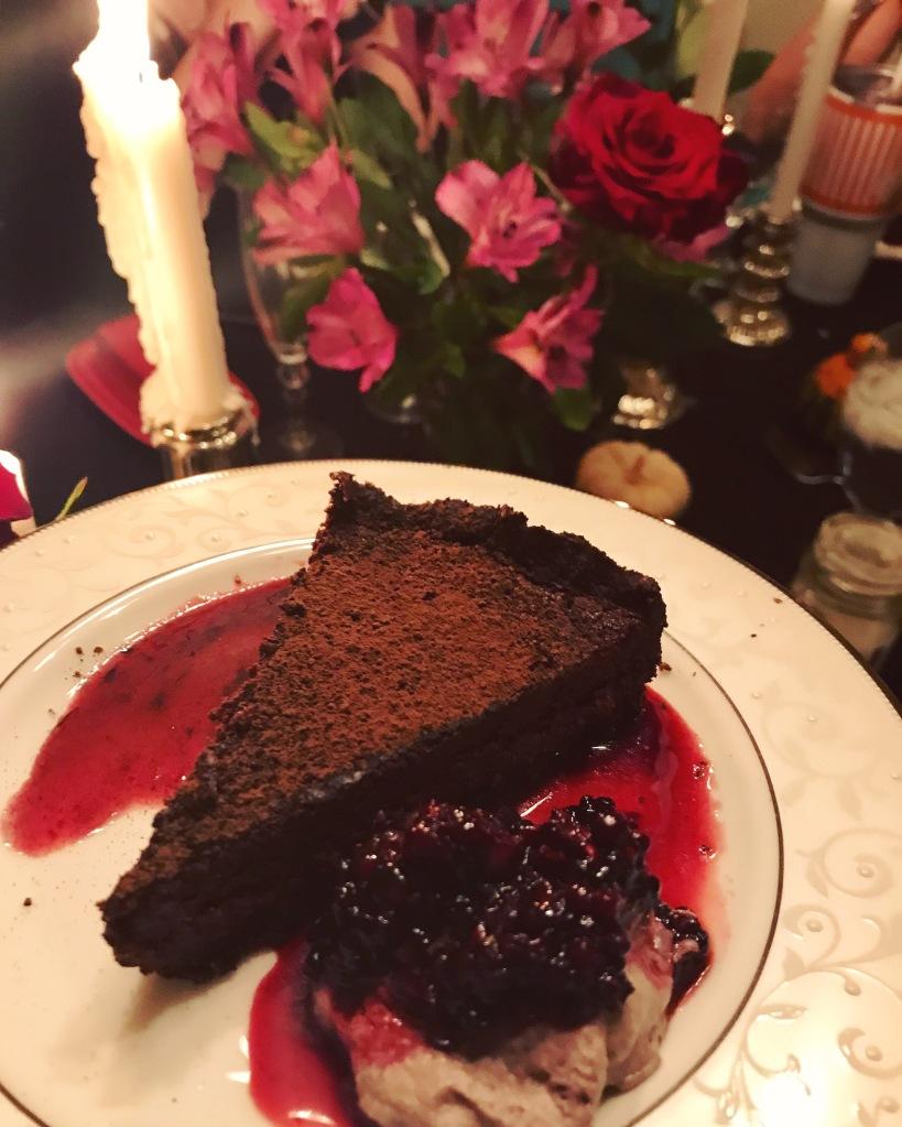 Tarte Noir | The Rose Table