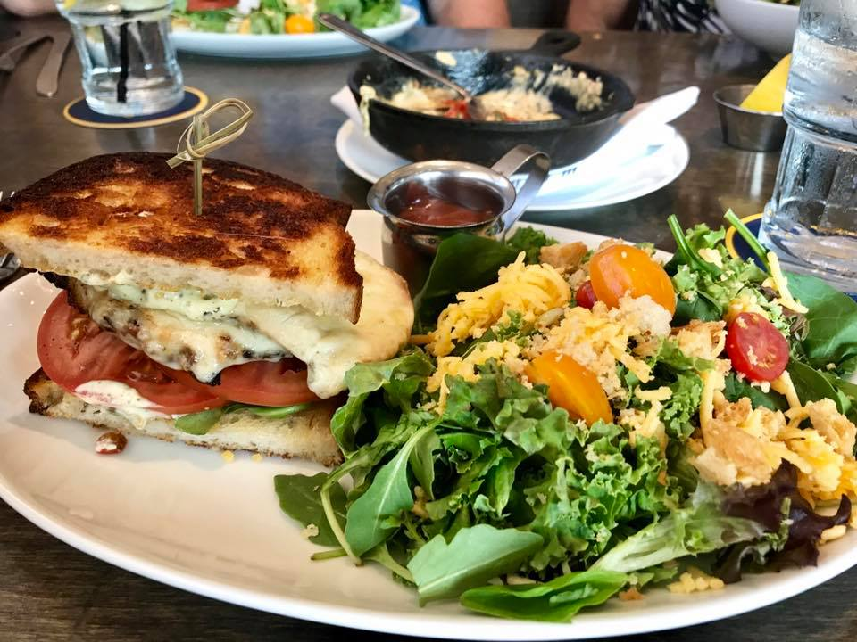 Grilled Chicken Sandwich | The Rose Table