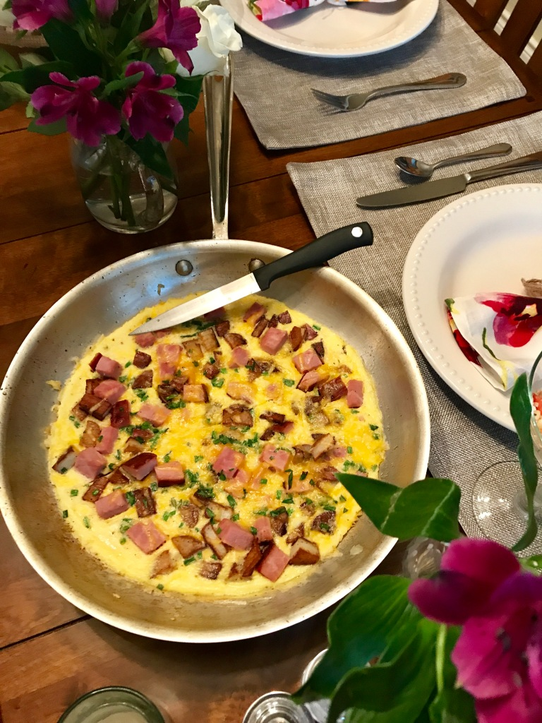 Giant Ham and Cheese Omelet | The Rose Table