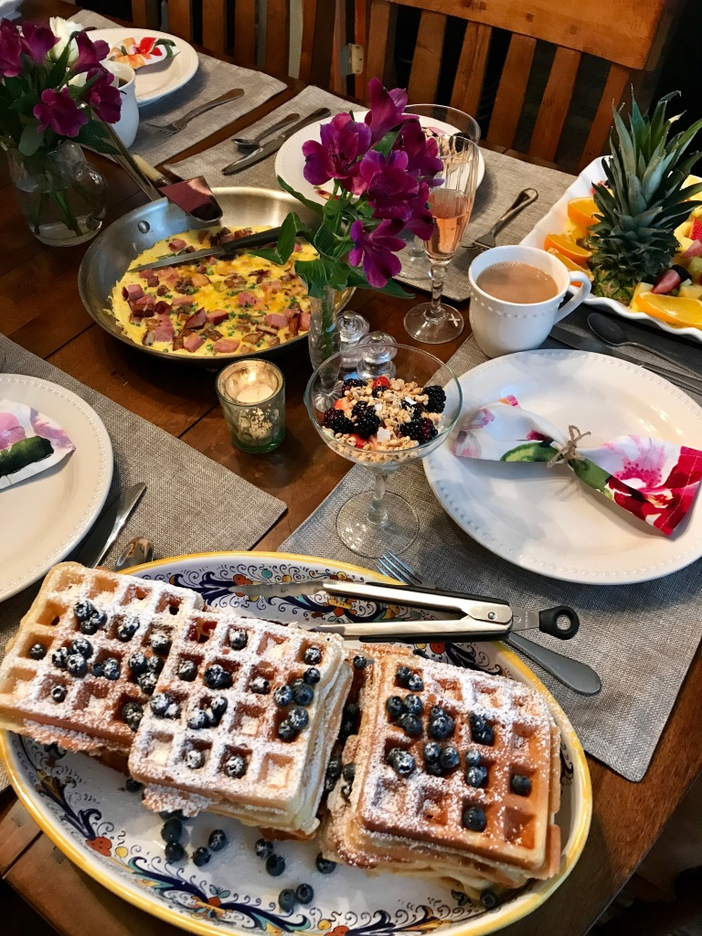 Belgian Waffles   The Rose Table