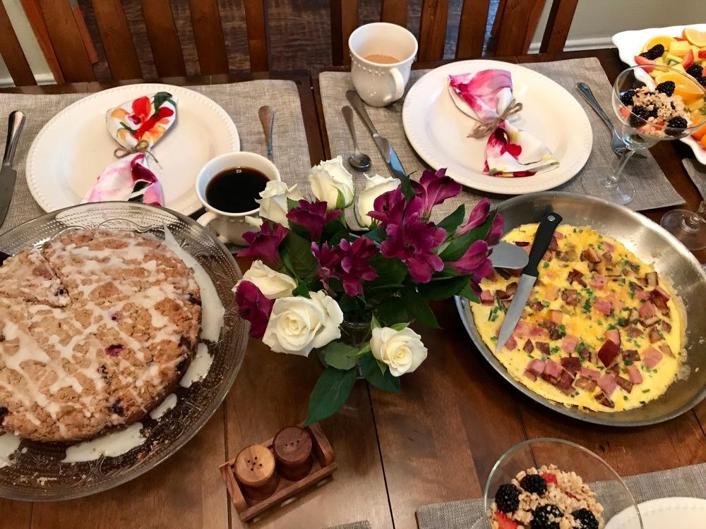 Fiori di SiciliaBlueberry Coffeecake   The Rose Table