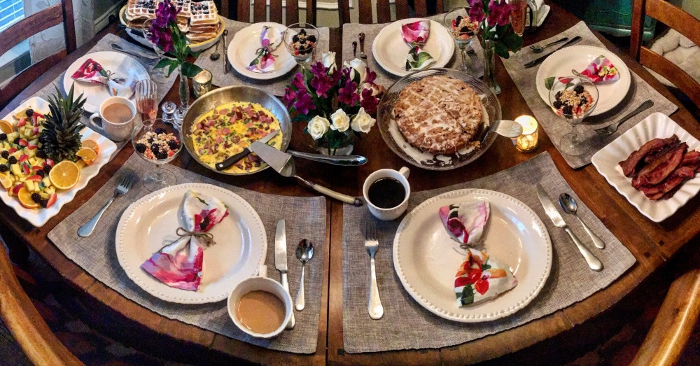 Brunch Ideas   The Rose Table