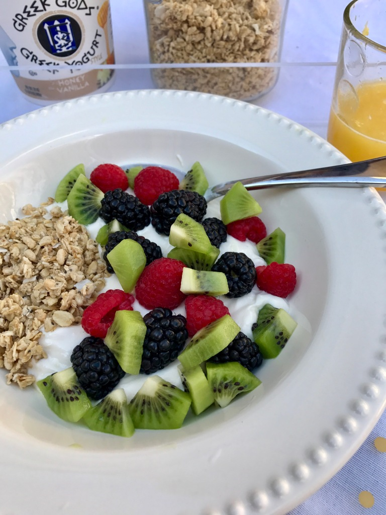 Fruit and Yogurt Bowl | The Rose Table