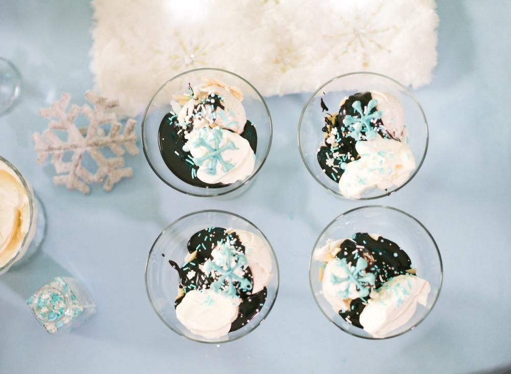 Frozen Hot Fudge Sundae Recipe | The Rose Table, Frozen recipes, adult Frozen dinner party