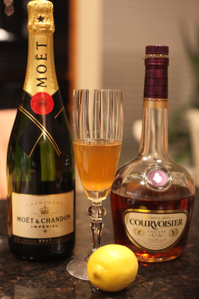 French 75 Recipe   The Rose Table